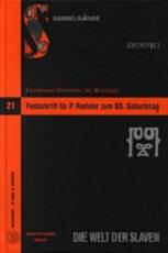 Festschrift Rehder