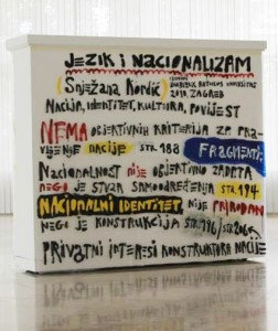 Naslovi poglavlja knjige Jezik i nacionalizam